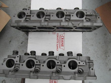 1967 427 corvette rectangle port cylinder heads 3904391 rebuilt stock A-21-67
