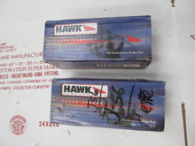 1965-74 CORVETTE BRAKE PADS J56 J-56 HEAVY DUTY L88 SEMI-METALLIC HAWK