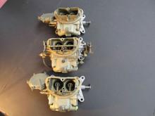 68-69 Corvette  3659 4055 TRI-POWER HOLLEY 832 833 843 427 435 400 #3 carbs carb
