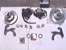 53-62 Corvette Disc Brake Conversion Kit