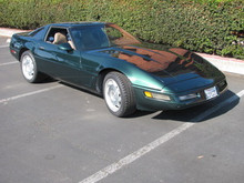 96 Corvette LT4 Grand Sport Coupe Green Tan 6-Speed