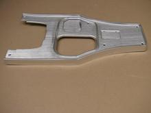 63 Corvette Shifter Console Plate w/o PW