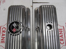 69-77 Corvette Camaro NEW exact LT1 Z28 FINNED ALUMINUM VALVE COVERS