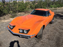 1969 ORANGE CORVETTE  350 4-SPEED