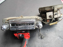 1957 CORVETTE =EXCELLENT WORKING = WONDERBAR RADIO-SPEAKER POWER PACK AMPLIFIER