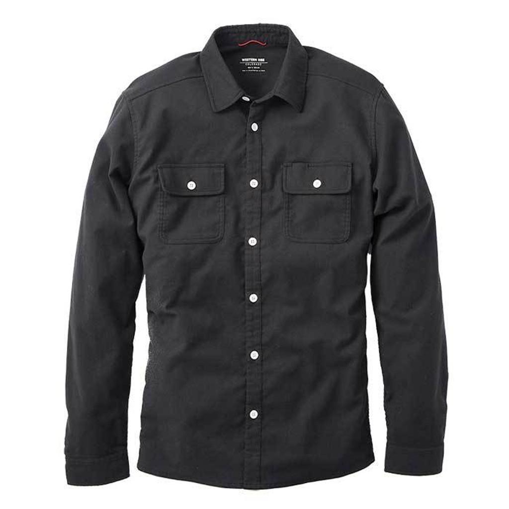 Wool Flannel — Black