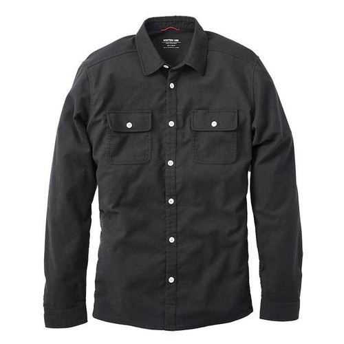 Wool Flannel — Black