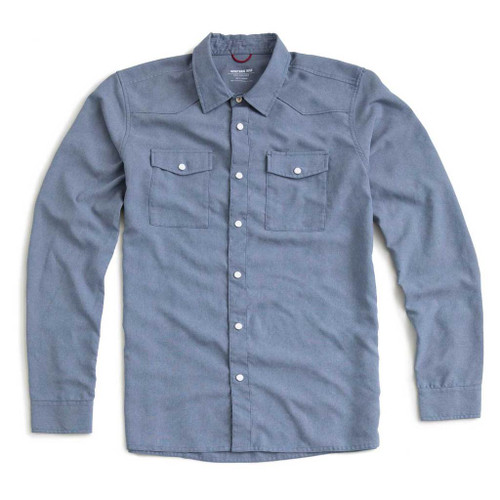 Western Shirt — Denim