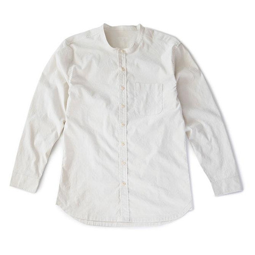 Hemp Button Down — Natural