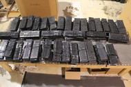 400x USB keyboards - BLACK Color - Full Gaylord Box -used wholesale computer keyboards. USB input