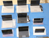 """9X MICROSOFT SURFACE BOOK/PRO4/PRO3 TABLETS. (7 ARE """"A"""" GRADE, 2 HAVE CRACKED SCREEN)"""