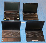 "54X ASUS NETBOOK LAPTOPS. GRADE ""C"" MISSING PARTS / SCREEN ISSUES"