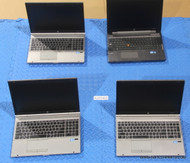 86X HP ELITEBOOK / ZBOOK LAPTOPS - CORE I SERIES - MISSING PARTS OR OTHER ISSUES