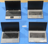 40X HP ELITEBOOK 8400 SERIES LAPTOPS - CORE I SERIES - MISSING PARTS OR OTHER ISSUES