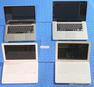 119X APPLE MACBOOK LAPTOPS WITH COSMETIC ISSUES AND/OR MISSING PARTS