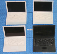 158X APPLE MACBOOK A1181 LAPTOPS WITH COSMETIC ISSUES AND/OR MISSING PARTS