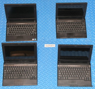 "143X DELL LATITUDE 2110 NETBOOK LAPTOPS. ""B"" GRADE - SMALL CRACK IN PLASTIC"