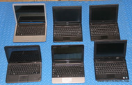 "262X DELL NETBOOK LAPTOPS. ""B"" GRADE -- COSMETIC ISSUES"