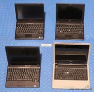 """235X DELL NETBOOK LAPTOPS. """"C"""" GRADE -MISSING PARTS / FUNCTION ISSUES"""