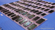73x SAMSUNG CELL PHONES -TESTED UNITS - SCREEN / FUNCTIONALITY ISSUES