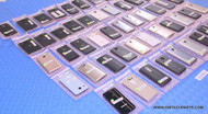 "52x BLACKBERRY / LG / HUAWEI CELL PHONES - ""B"" GRADE -TESTED UNITS - COSMETIC ISSUES"