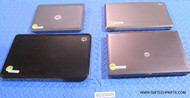 "34X HP NEWER STYLE LAPTOPS. MIX MODELS. GRADE ""B"" - COSMETIC IMPERFECTIONS WITH AC ADAPTERS"