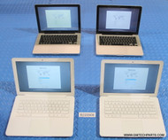"82X ""A"" GRADE MACBOOK CORE 2 DUO LAPTOPS WITH AC ADAPTERS"