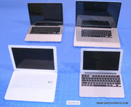 323X APPLE MACBOOK LAPTOPS WITH MISSING PARTS OR FUNCTIONALITY ISSUES