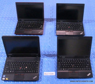 "86X LENOVO THINKPAD X130E/120E/100E NETBOOK STYLE LAPTOPS. GRADE ""C"" - MISSING PARTS / FUNCTIONALITY ISSUES"