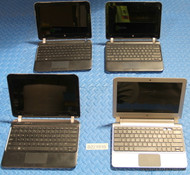"294X HP NETBOOK STYLE LAPTOPS. GRADE ""C"" - MISSING PARTS / FUNCTIONALITY ISSUES (NEWER)"