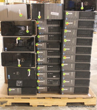 94X DELL HIGH END COMPUTERS. NEWER STYLES. TESTED WHOLESALE LOT