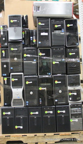 268X MIXED BRAND COMPUTERS. CORE 2 STYLE. TESTED WHOLESALE LOT - scratch and dent special!