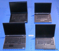 "235X DELL LATITUDE E6500 / E6400 SERIES LAPTOPS. CORE I SERIES. WHOLESALE LOT ""B"" GRADE"