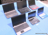"117X HP LAPTOPS. MIXED MODELS. NEWER STYLES. GRADE ""B"" (COSMETIC ISSUES)"