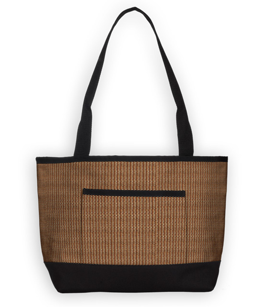 The Baby Tote Bag in Rattan Calabria.