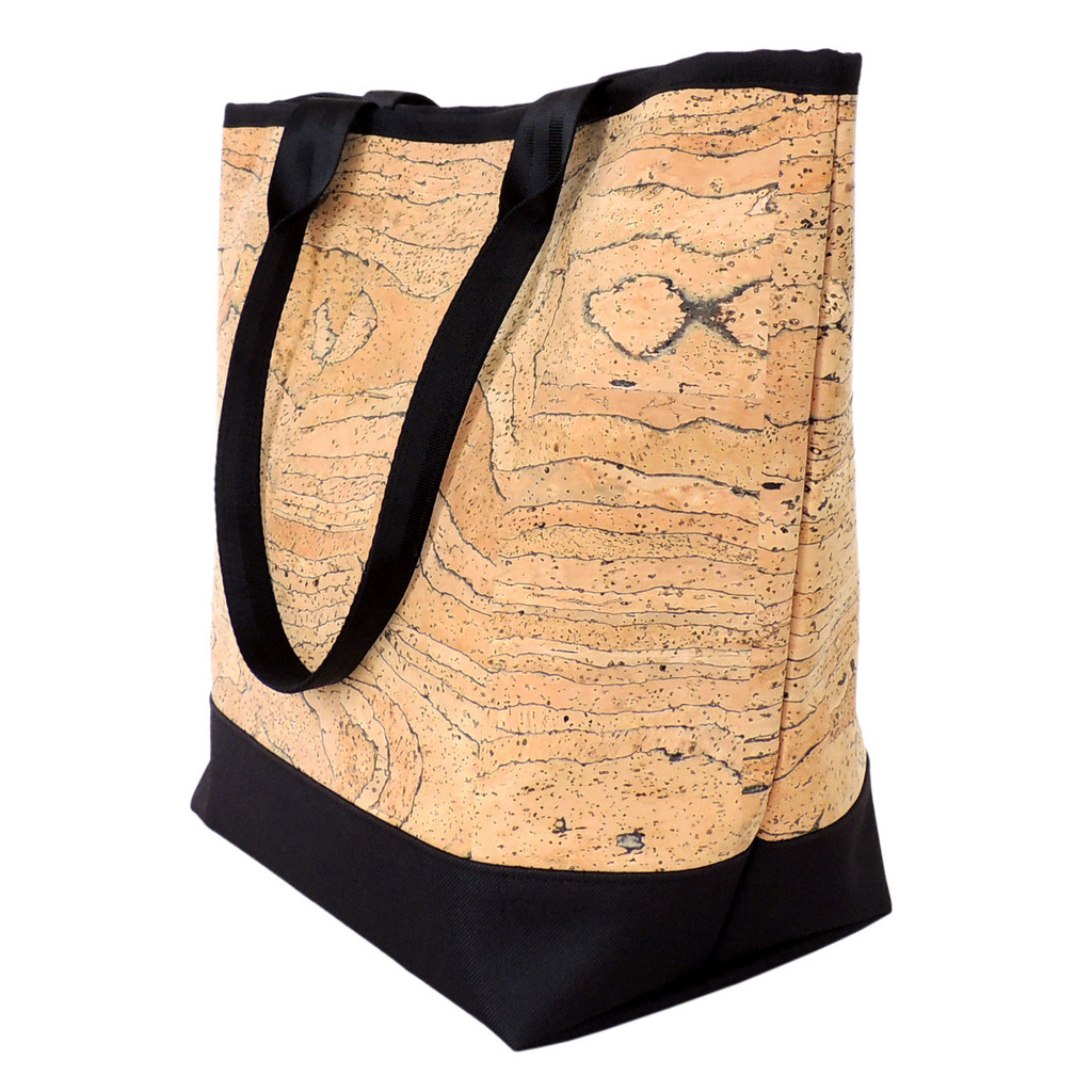Signature Tote in Marble Cork