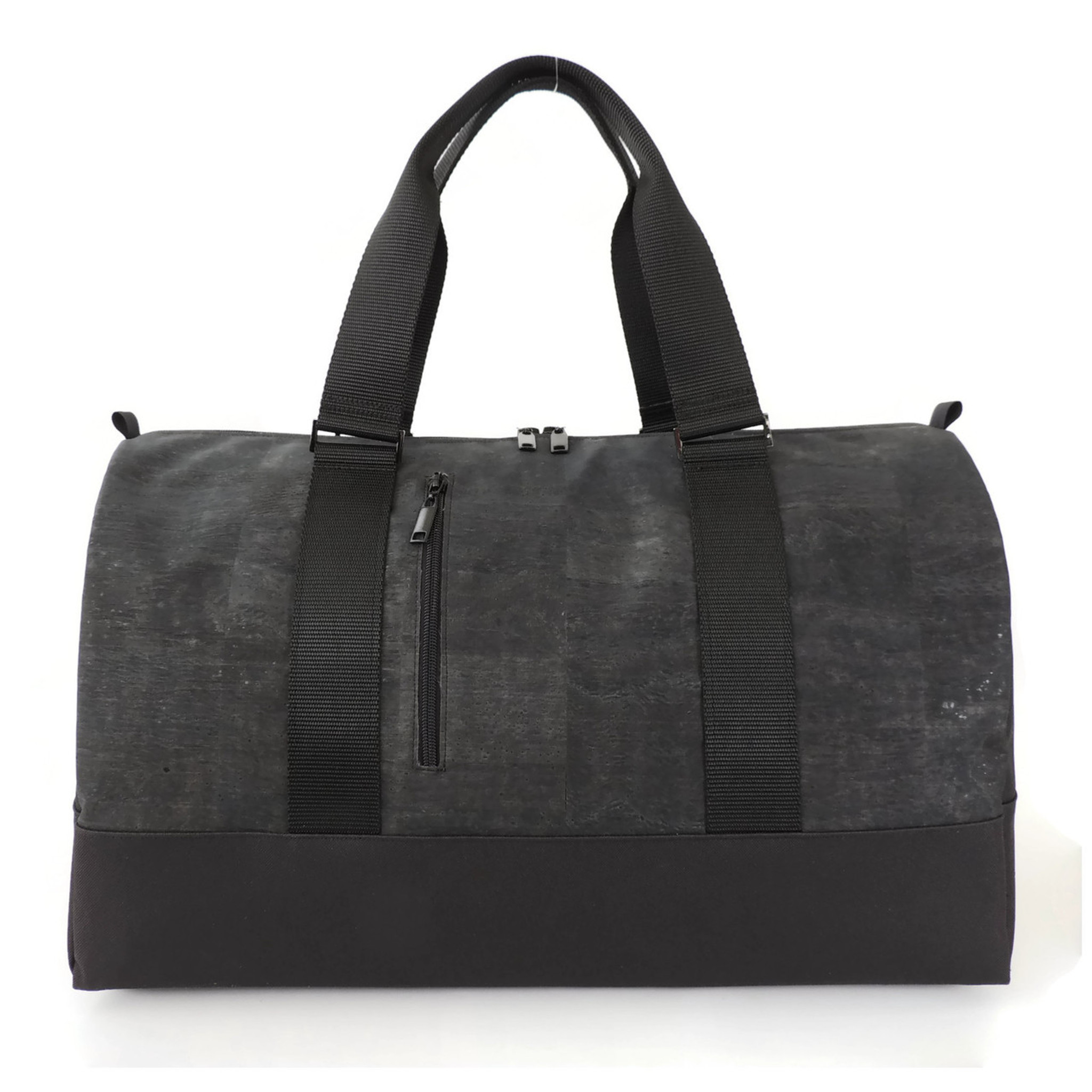 Large Duffle in Black Cork