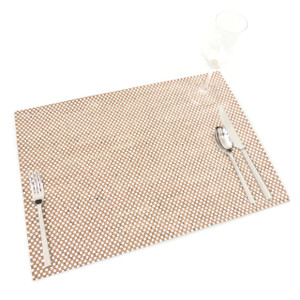 Placemat in White Check Cork