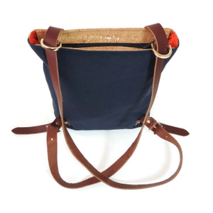Bootie Pack in Cork Dash Gold and Navy Canvas
