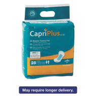 "Capri Plus Bladder Control Pads, Extra Plus, 6 1/2"" x 13 1/2"", 28/Pack"