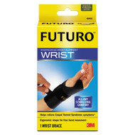 """Energizing Wrist Support, S/M, Fits Right Wrists 5 1/2""""-6 3/4"""", Black, 12/Carton"""