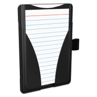At Hand Note Card Case, 25 Capacity, 3 3/4d x 5 1/2w, Black