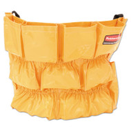 Brute Caddy Bag, 12 Pockets, Yellow