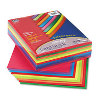 Array Card Stock, 65 lb., Letter, Assorted Lively Colors, 250 Sheets/Pack