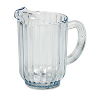 Bouncer Plastic Pitcher, 60oz, Clear