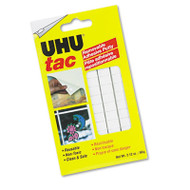 Tac Adhesive Putty, Removable/Reusable, Nontoxic, 2.12 oz, 80 pieces/Pack