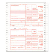 1099-INT Tax Forms, 5-Part, 5 1/2 x 8, Inkjet/Laser, 76 1099s & 1 1096