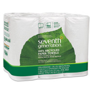 100% Recycled Paper Towel Rolls, 2-Ply, 11 x 5.4 Sheets, 140 Sheets/RL, 6/PK