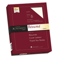 100% Cotton Resume Paper, 32lb, 8 1/2 x 11, Ivory, Wove, 100 Sheets