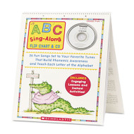 ABC Singalong Flip Chart, 26 pages, CD